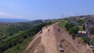 Şehrin yeni giriş kapısında çalışmalar hızlandı