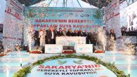 Bakan Eroğlu,fidan dikti,temel attı,vatandaşla iftar açtı