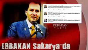 Arifiye'de Erbakan Vakfı iftarı ertelendi