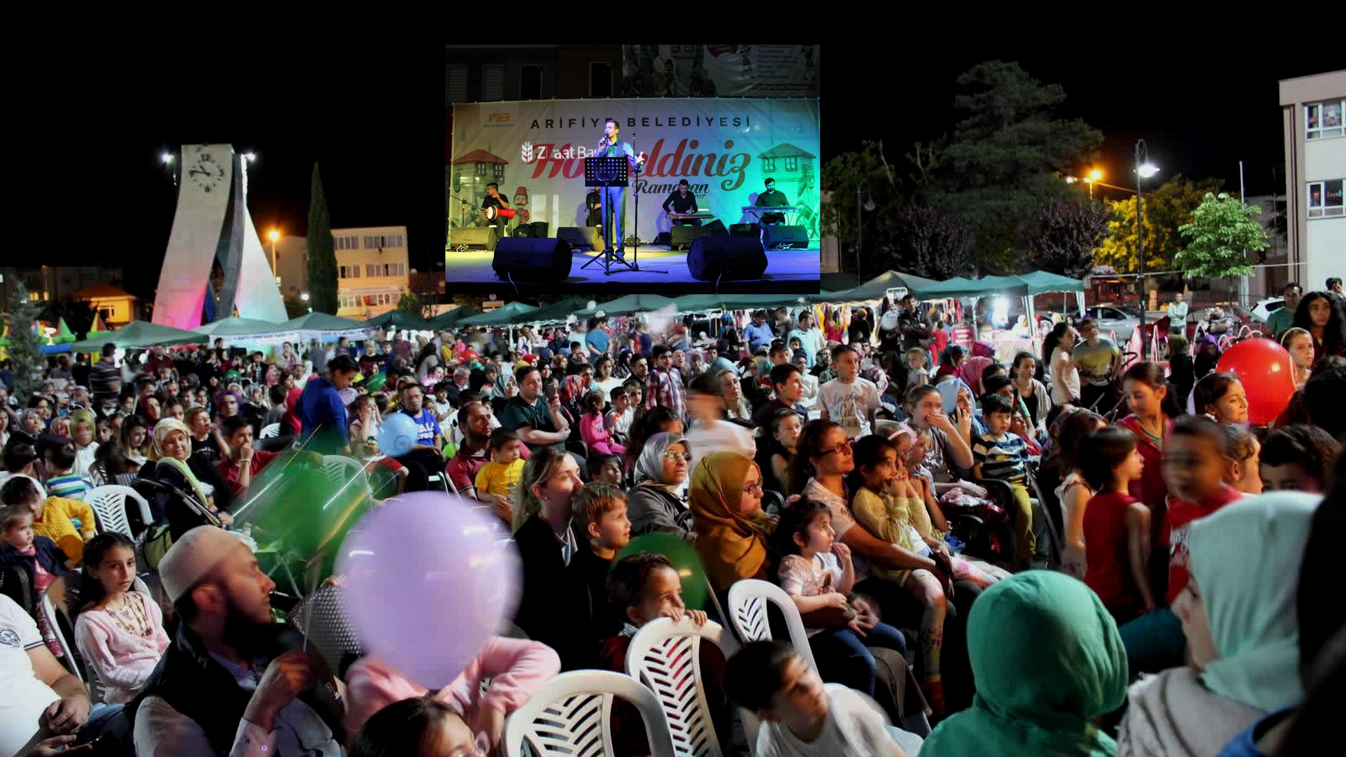 Arifiye Belediyesi Ramazan Etkinliklerinde İkinci Perde