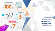 Sakarya Üniversitesi En Başarılı 100 Marka Arasında