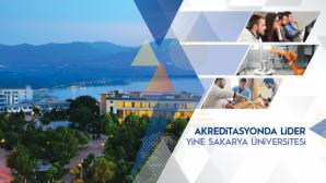 Sakarya Üniversitesi Akreditasyonda Liderliğini Sürdürüyor