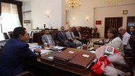Vali Balkanlıoğlu'na hayırlı olsun ziyaretleri devam ediyor