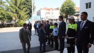 Vali Balkanlıoğlu'nun İl Emniyet Müdürlüğünü Ziyareti