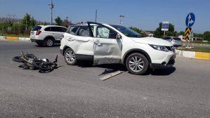 Arifiye-Sapanca Kavşağında yine bir kaza