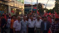 'Büyük Milli İrade' yürüyüşüne Arifiye'den yoğun katılım