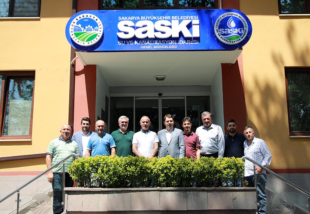 MÜSİAD Sakarya'dan SASKİ'ye ziyaret