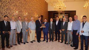 Türkiye Cami Ve Kur'an Kursları Dernekleri Federasyonu Yönetimi Valiyi Ziyaret Etti
