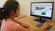 Minikler bilgisayarla SGM'de tanışıyor
