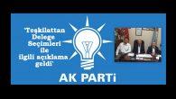 Arifiye Ak Partiden Delege Seçimleri ilgili açıklama