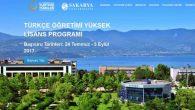 Türkçe Öğretimi Yüksek Lisans Başvuruları Başladı