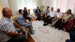 15 Temmuz Gazileri Ziyaret edildi