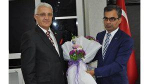 Mehmet Özel koltuğunu yeni Başsavcı Lütfi Dursun'a teslim etti.