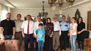 Arifiye'mizin Şehit Ailelerine ve Gazilere Ziyaretler devam ediyor