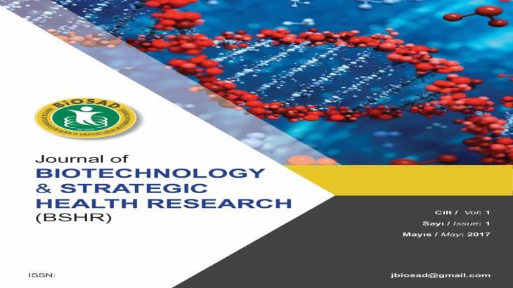 Biyoteknolojik ve Stratejik Sağlık Araştırmaları Dergisi Yayın Hayatına Başladı