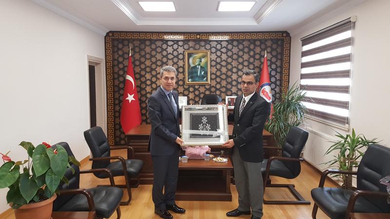 Sakarya Cumhuriyet Başsavcısı Mehmet Özel'den veda ziyareti