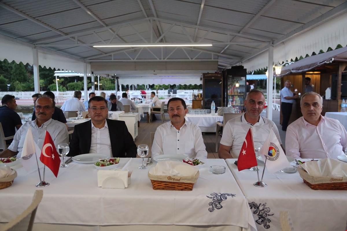 Vali Balkanlıoğlu Kültür ve Turizm Bakanlığı Yetkilileriyle Yemekte buluştu
