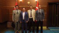 Vali Balkanlıoğlu'na Arifiye Gar Müdüründen Hayırlı Olsun Ziyareti