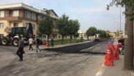 Arifbey Mahallesinde,Adnan Menderes Caddesi asfaltlanıyor