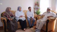Vali Balkanlıoğlu,Asım Hocayı ziyaret etti