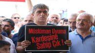 Arakan'daki Müslüman katliamı ilimiz de protesto edildi