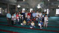 Kur'an-ı Kerim Kursuna düzenli olarak giden çocuklara ödül