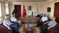 Hendek Belediye Başkanı Püsküllü'den Başkan Karakullukçuya ziyaret