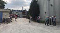 Kimya fabrikasında çıkan yangın söndürüldü