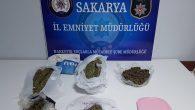 Sakarya Narkotik'ten Semt Pazarcısına torbacı operasyonu