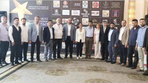 TÜMSİAD üyeleri Pakistan işadamları ile görüştü