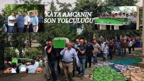 ARİFİYE'NİN KAYA AMCASI SON YOLCULUĞUNA UĞURLANDI
