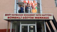 Van-Erciş'te Muhammet Fatih Safitürk Sürekli Egitim Merkezi Açıldı