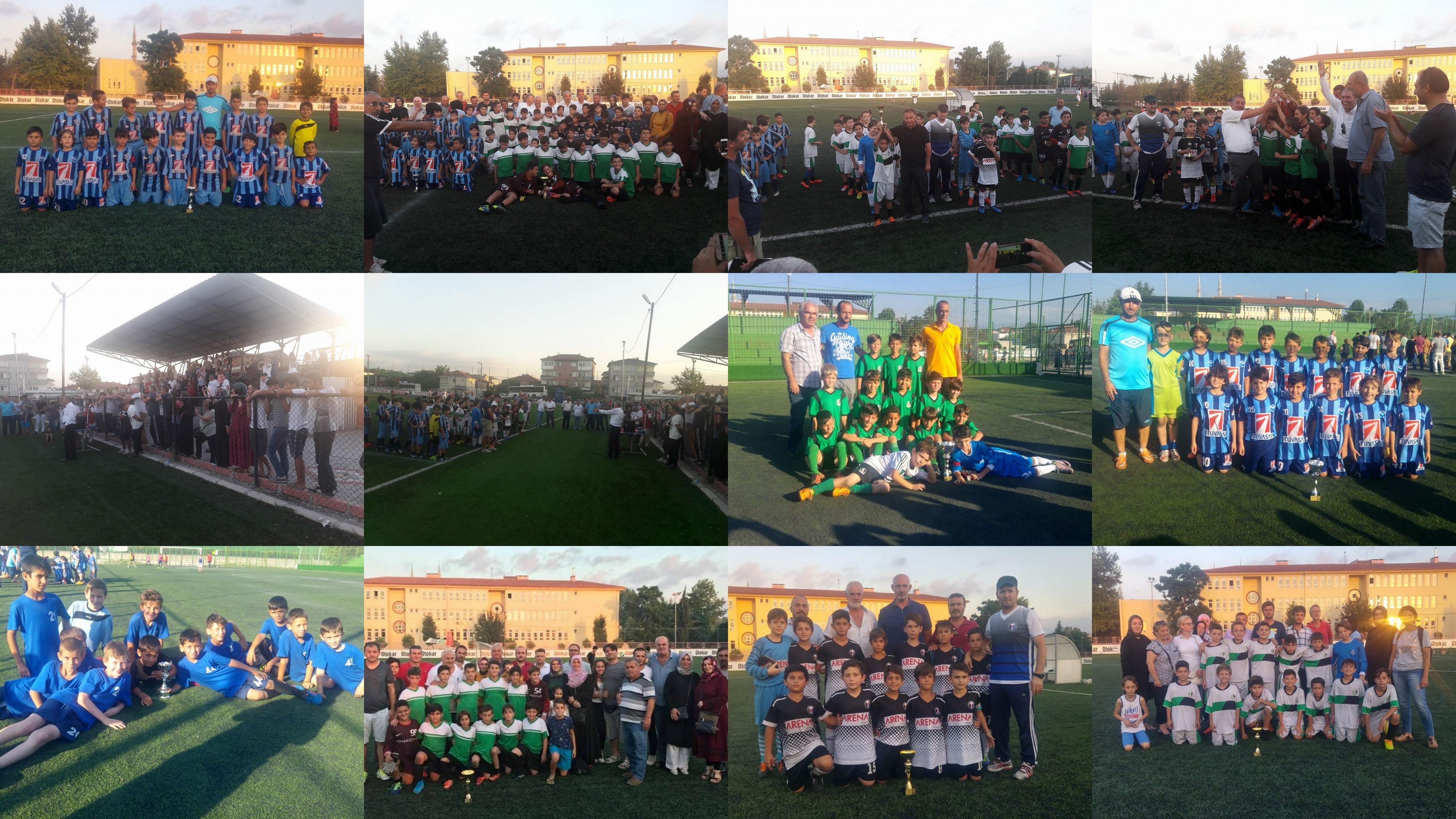 Arifiye'de ilk kez düzenlenen turnuva bitti