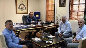 İ.B.B Kültür A.Ş. Genel Müdürü RIDVAN DURAN'I Ziyaret ettiler