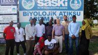 SAÜ Afrokarya Öğrenci Topluluğu üyeleri SASKİ'de
