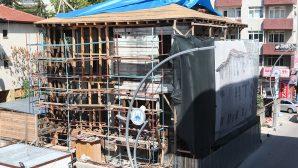 Tarihi Alicanlar Konağı'nda Resterasyon çalışmaları sürüyor