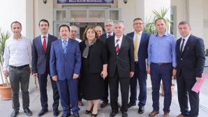 Vali Balkanlıoğlu'nun İade-i Ziyaretleri