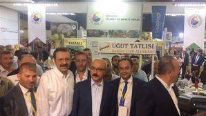 SATSO Antalya' da Yörex 2017 Fuarı'nda Sakarya ürünlerini tanıttı.