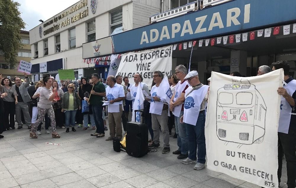 Ada Express'i için eylem