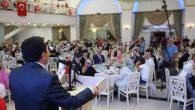 Gaziler ve Şehit ailelerimiz onuruna yemek verildi