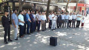 Arakan'da Müslümanlara yönelik yapılan zulme protesto