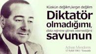 'SİZLERE DARGIN DEĞİLİM'