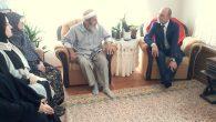 Başkan Öztürk Şehit Babası Asım Hocayı ziyaret etti