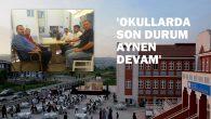 ARİFİYE'DE OKUL DEĞİŞİMİNDE GERİ ADIM