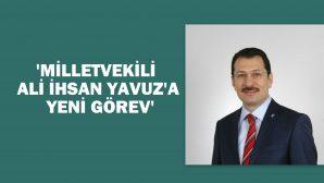 Ali İhsan Yavuz AK Parti Genel Merkez (SKM) Başkanı oldu