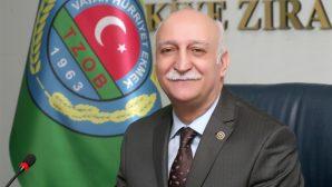 TZOB Genel Başkanı Bayraktar,'Reel sektörün temeli tarım'