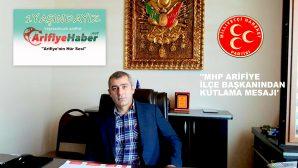 MURAT YÖRDAN'DAN ARİFİYE HABER'E KUTLAMA