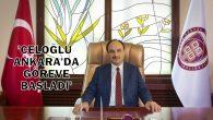ADEM ÇELOĞLU ASBÜ'DE GÖREVE BAŞLADI
