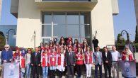 Damla Projesi Kapsamında Gönüllü Gençler, Vali Balkanlıoğlu'nu Ziyaret Etti