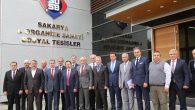 Vali Balkanlıoğlu İlçemizde ki 1. OSB'yi Ziyaret Ederek Fabrikaları Gezdi